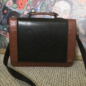 Handbags - Vintage Briefcase / Shoulder Bag